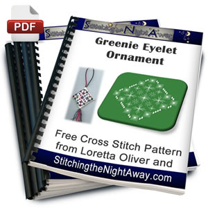 Greenie Eyelet Ornament