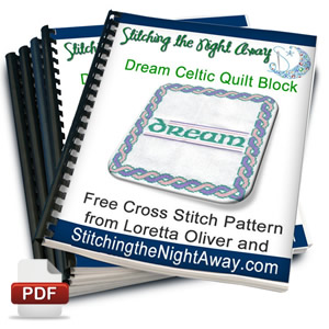 dream celtic quilt block