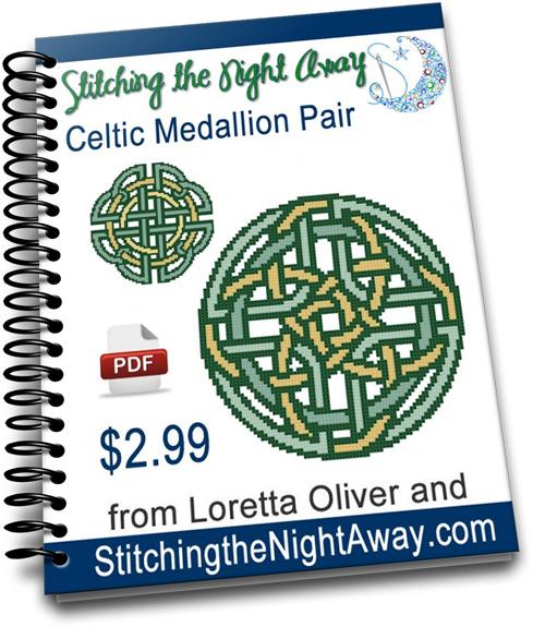 CelticMedallionPairCrossStitchPattern