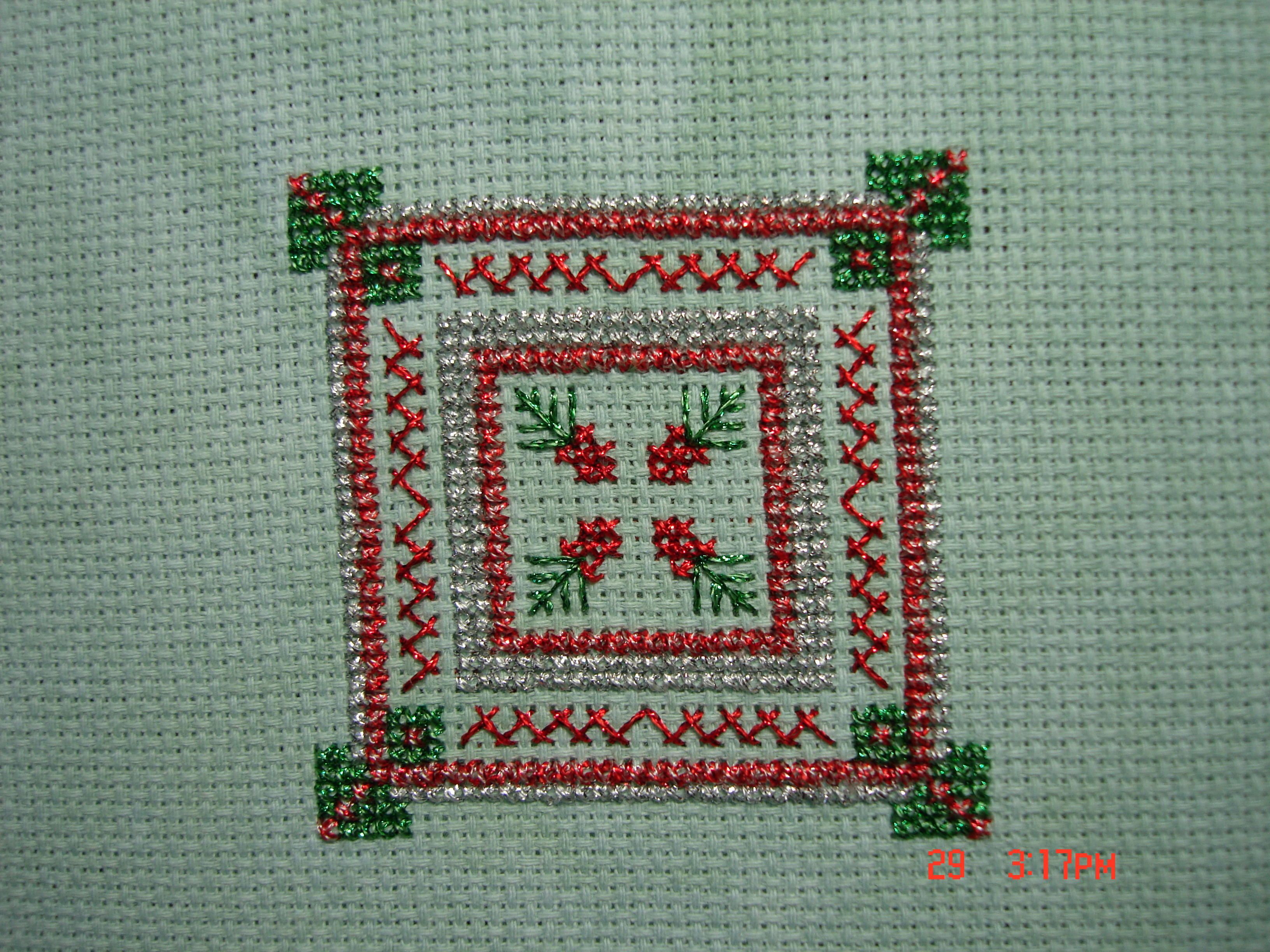 Ornament Cross Stitch by Laurel