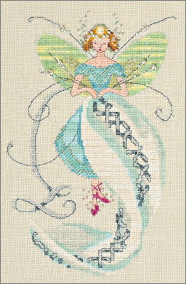 Stitching Fairy by Nora Corbett