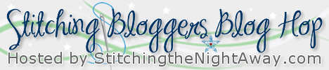 Stitching the Night Away Stitching Bloggers Blog Hop