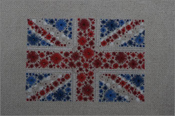 Starburst Flag of Great Britain