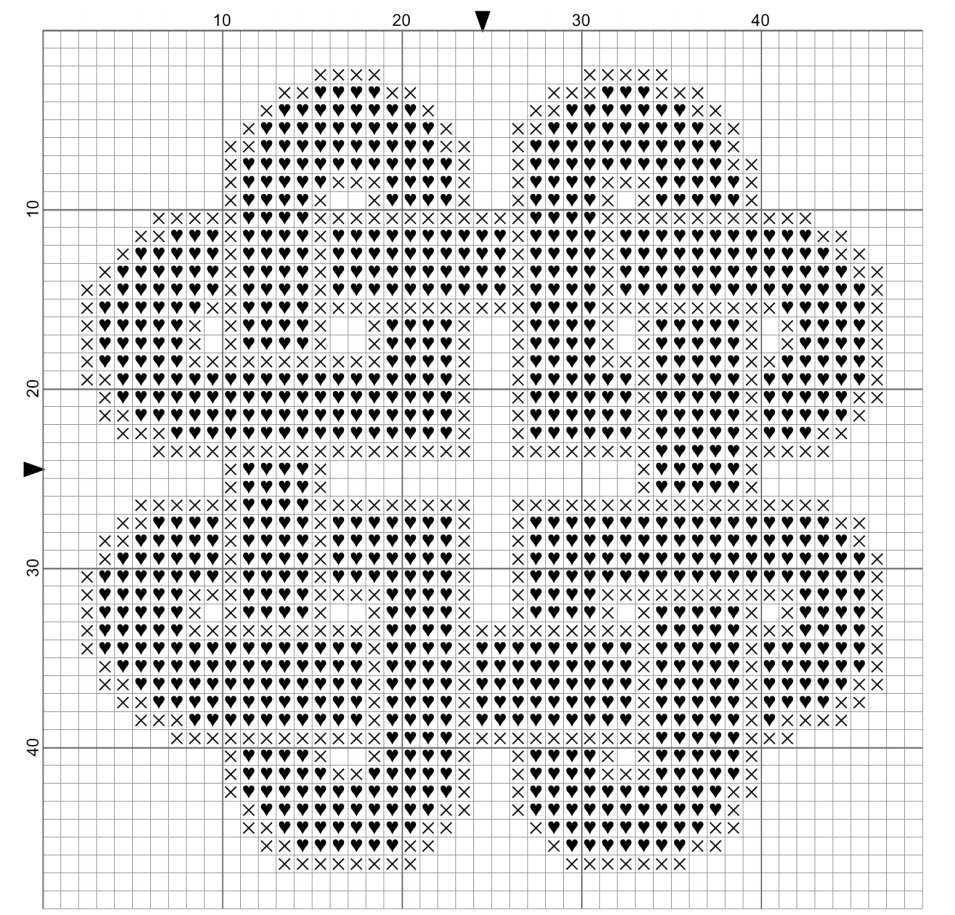 Free Cross Stitch Patterns Hearts