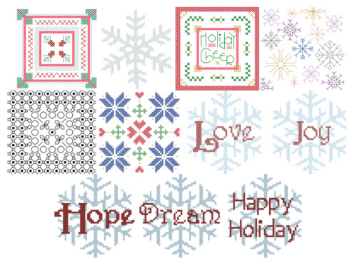 2012 Ornament Club Patterns