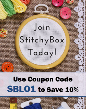 Join Stitchy Box Using Coupon Code SBLO1 and Save 10%
