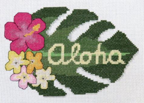 Aloha by Camp Cross Stitch