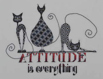 Attitude is Everything by MarNic Designs