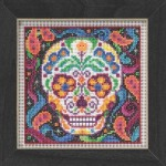 Mill Hill Beaded Sugar Skull Cross Stitch Kit