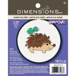 hedgehog cross stitch
