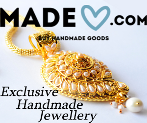 MadeHeart.com Exclusive Handmade Jewellery