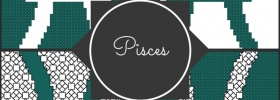Pisces zodiac cross stitch patterns