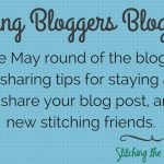 Stitching Bloggers Blog Hop: Staying Active