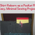 Making a Pocket Pillow from an Old Shirt